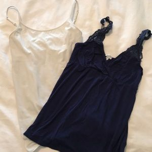 Lot of 2 Maternity Tanks size Small